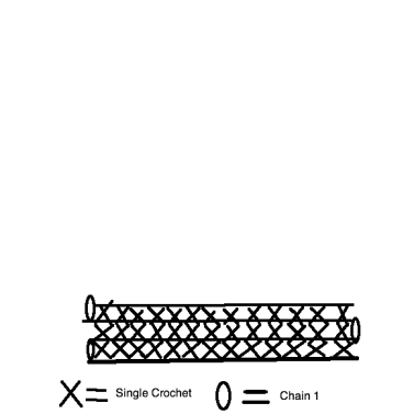 Single Crochet Drawing