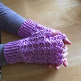 Mermaid Fingerless Gloves - $30