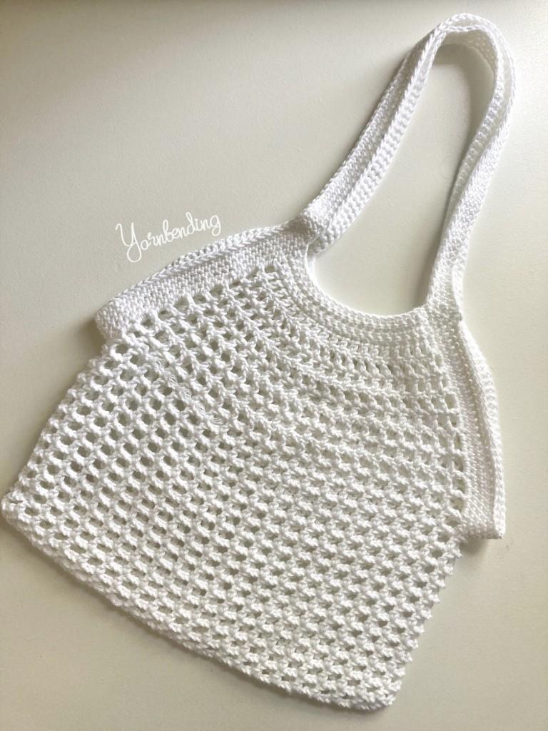 Image of crocheted white net